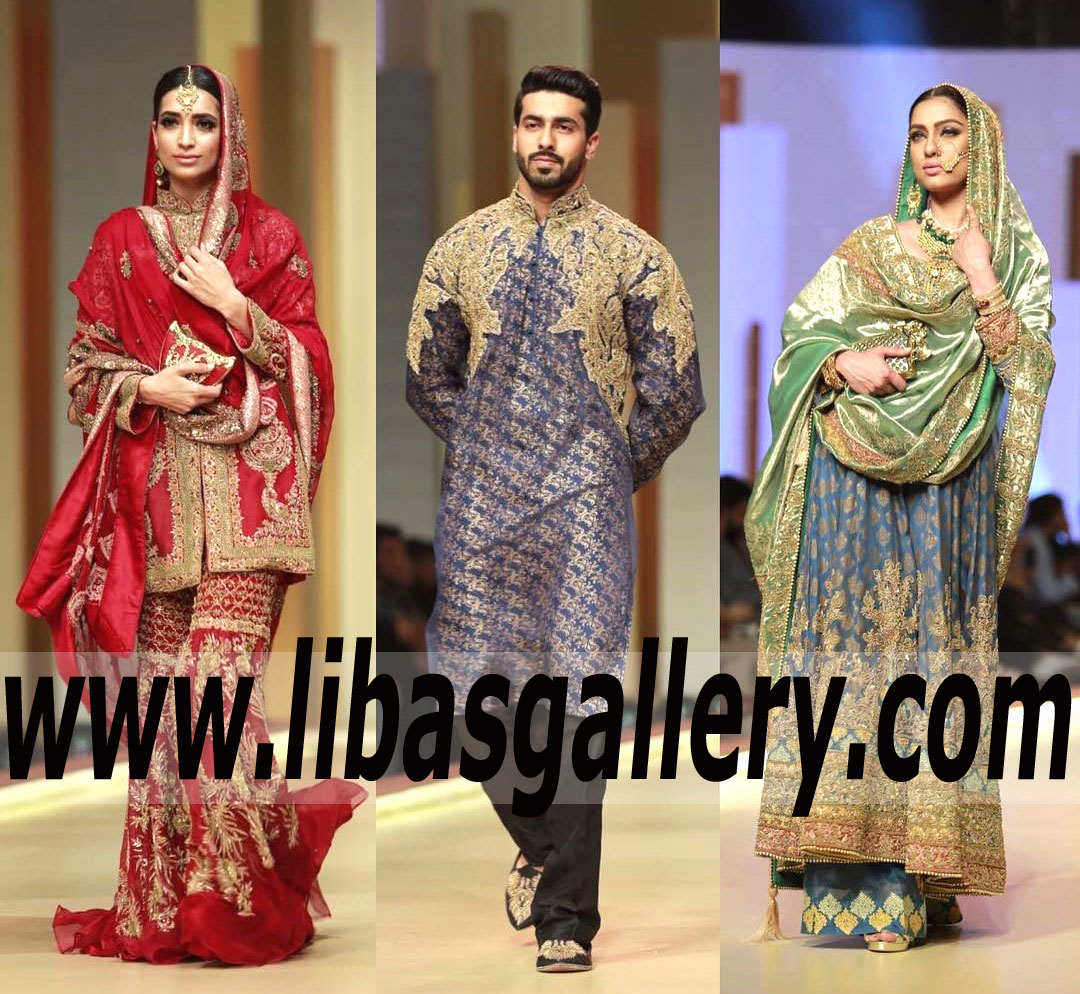 HSY Bridal AND Groom Collection At QMobile HUM Bridal Couture Week 2017