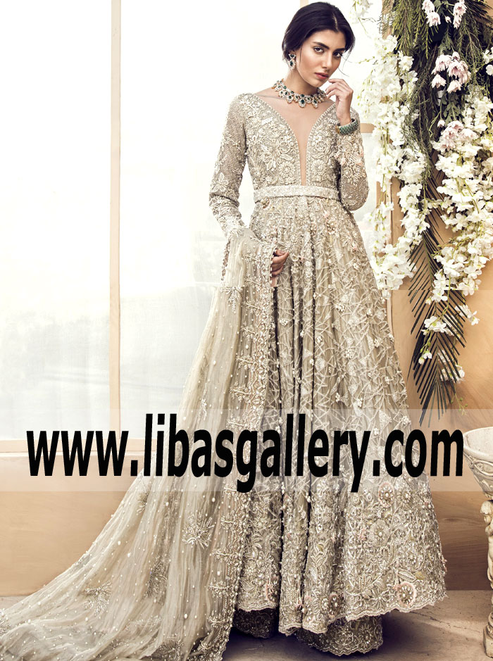 e3eac3b579e7 5 truly glamorous wedding dresses by Sana Yasir for luxe brides