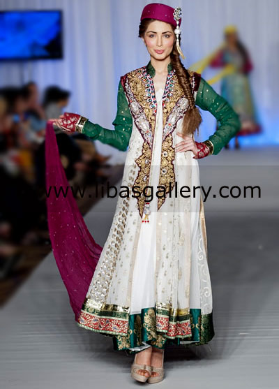 Waseem Noor whimsical Bridal wear and Party wear Collection 2013 in ...