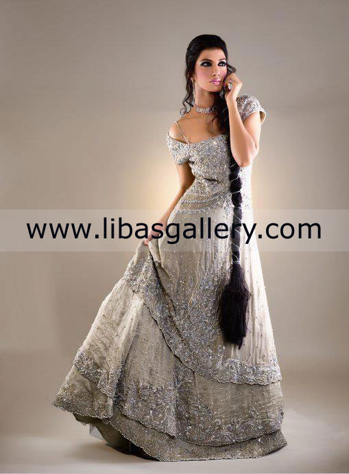 trend Of Asian Wedding Evening Dresses 2013 Collection Bridal ...