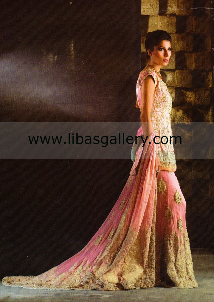 Indian wedding dresses pink