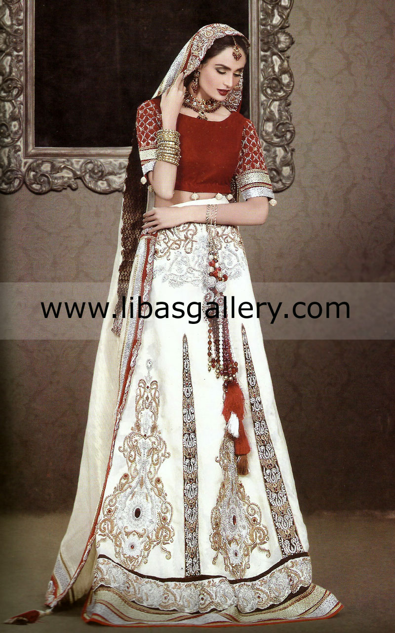Traditional Bridal Lehenga Dresses For Weddings Special Occasions