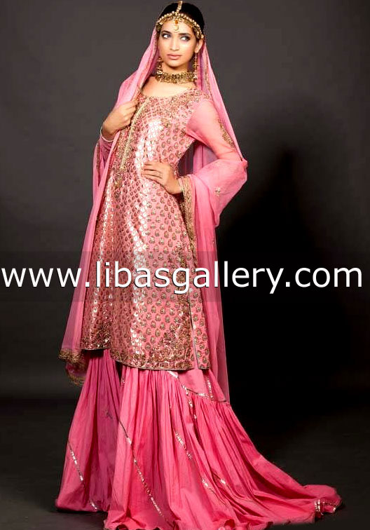 6649fd3841 Shop the latest couture wedding dresses by Fahad Hussayn ...