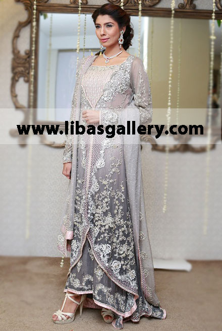 3ce91b7396 pakistani designer MARIA.B latest bridal dress collection for ...