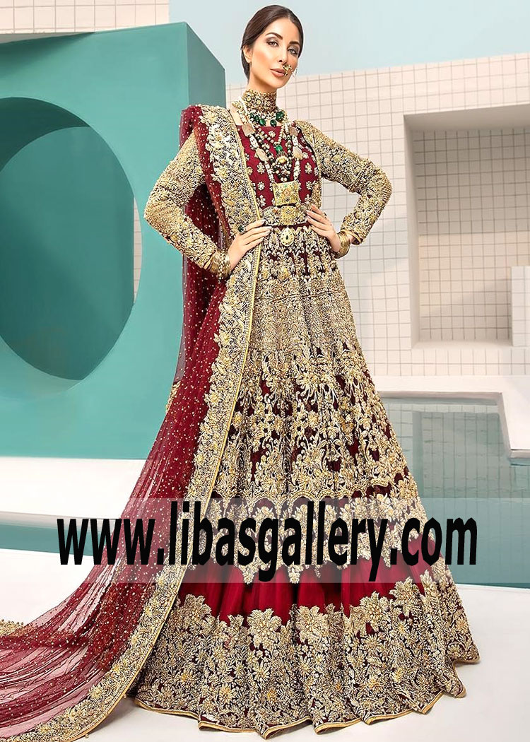 Wedding Ruby Red Tansy Gown