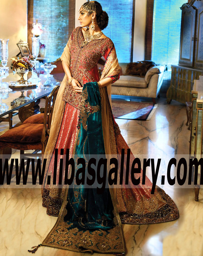 8e630a90dc Buy NILOFER SHAHID Bridal Dresses Party Wedding Dresses Sherwani ...