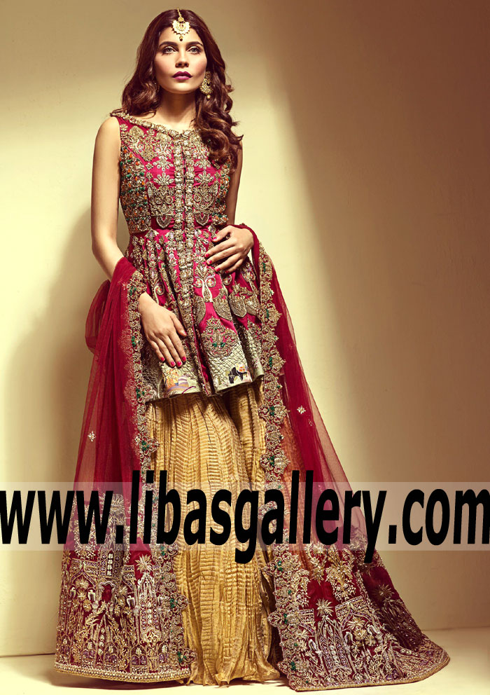 Pakistani bridal dresses 2018 uk wedding dresses in redlands for Indian wedding dresses usa