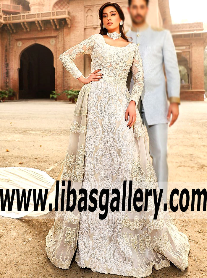 White Asian Wedding Dress