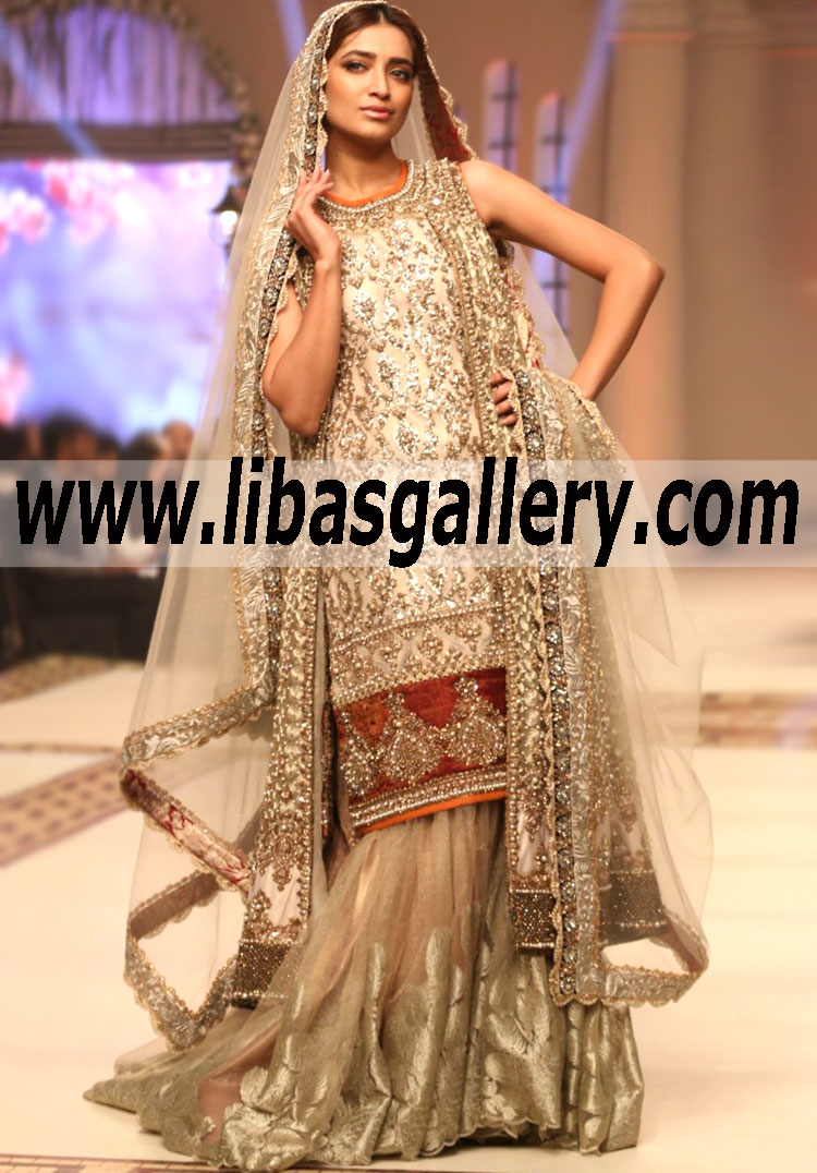 Pics Of Pakistani Wedding Dresses 2015 Goldin Ma