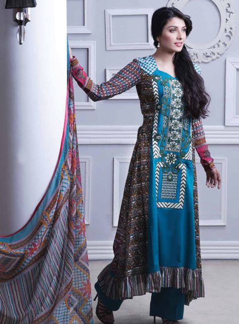 Ahmed Summer Lawn Prints 2013 collection,Gul ahmed Summer 2013 ...