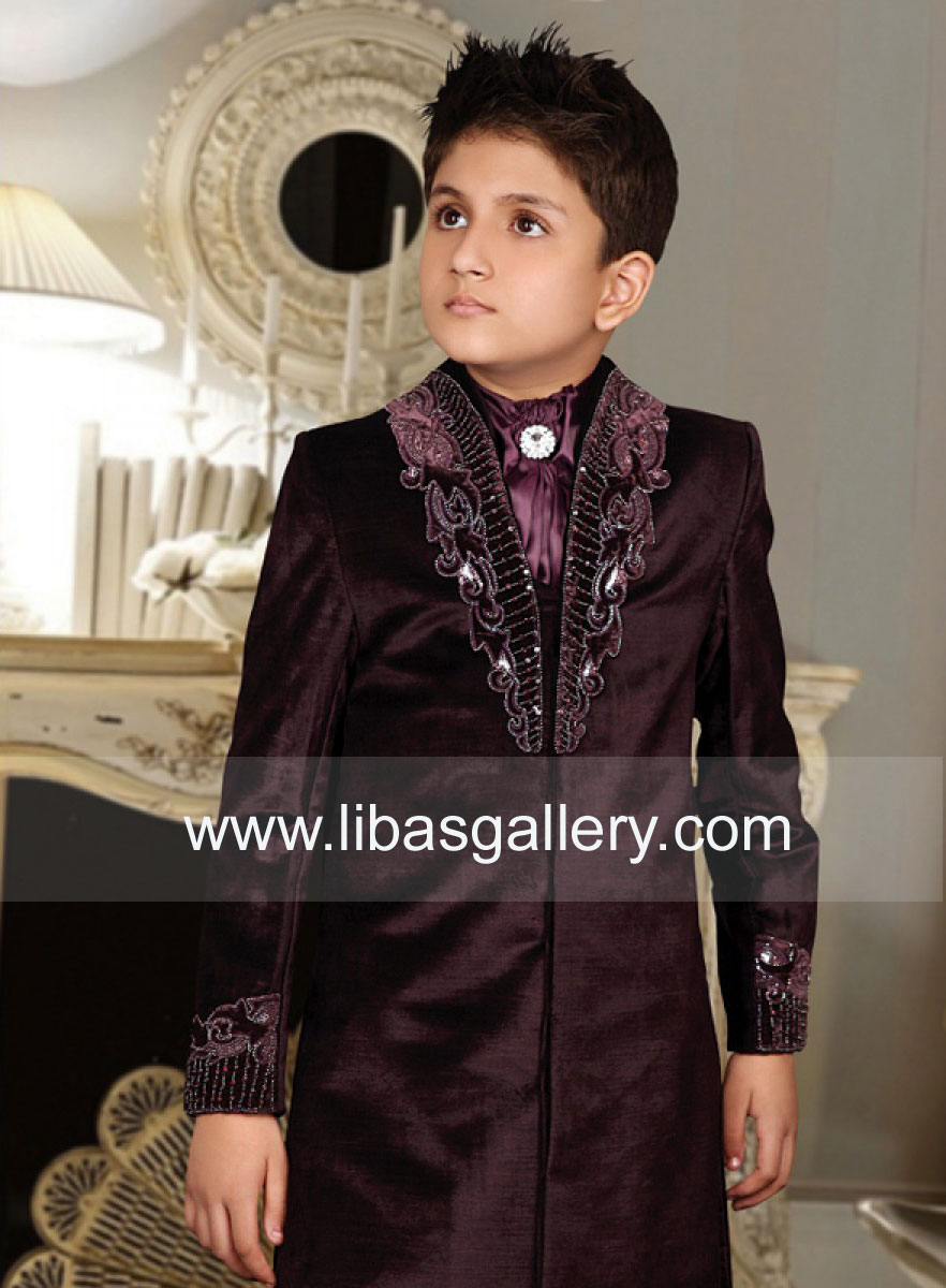 Boys Latest Sherwani Collection Kids Teen Boys Sherwani