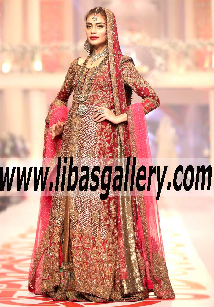collections of designer sana safinaz at bridal couture week 2015
