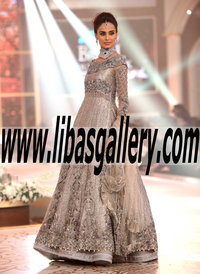 Sobia Nazir Luxury Wedding Dresses Telenor Bridal Couture Week ...