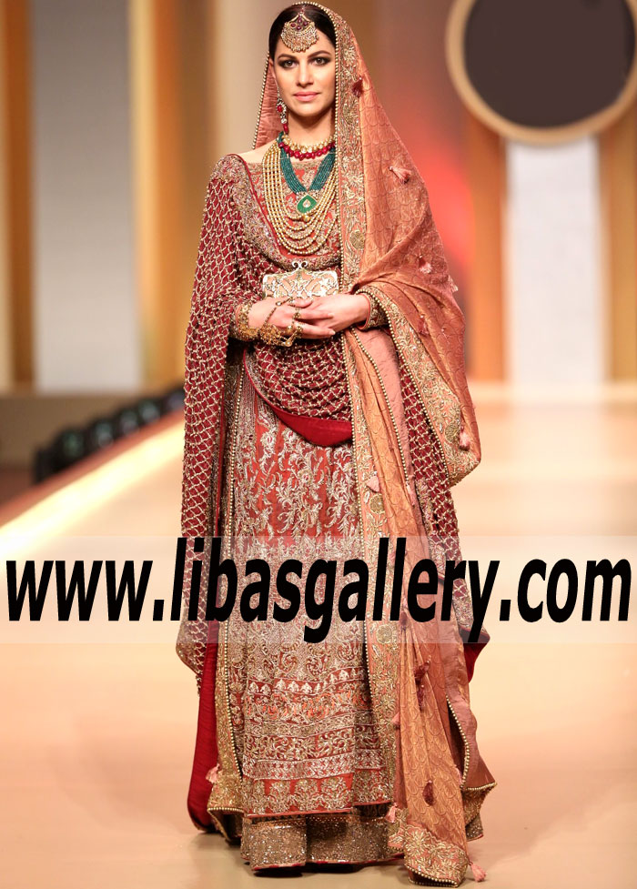 68e8c73d21 HSY Bridal Wear Gown Suits Online HSY Wedding Anarkali Gowns ...