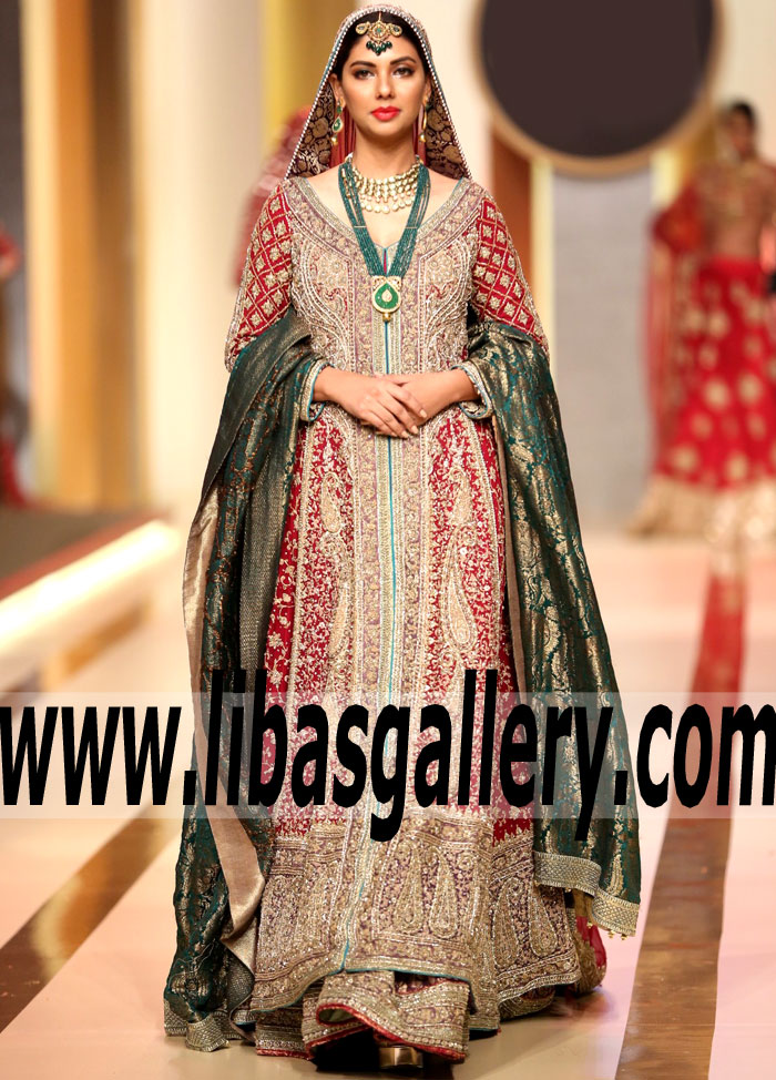 fa6a46becd92 New Arrivals Bridal dresses outfits Collection 2018 ,New Designer ...