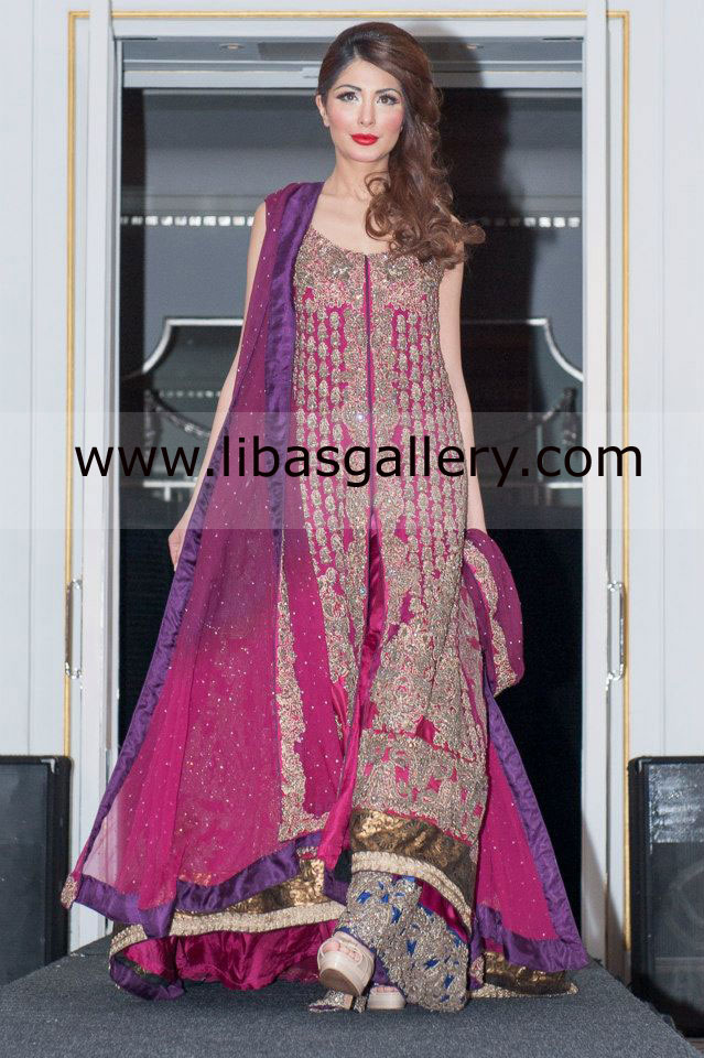 The Queen of fashion Sana Safinaz Bridal and Formal Wear Dresses ...