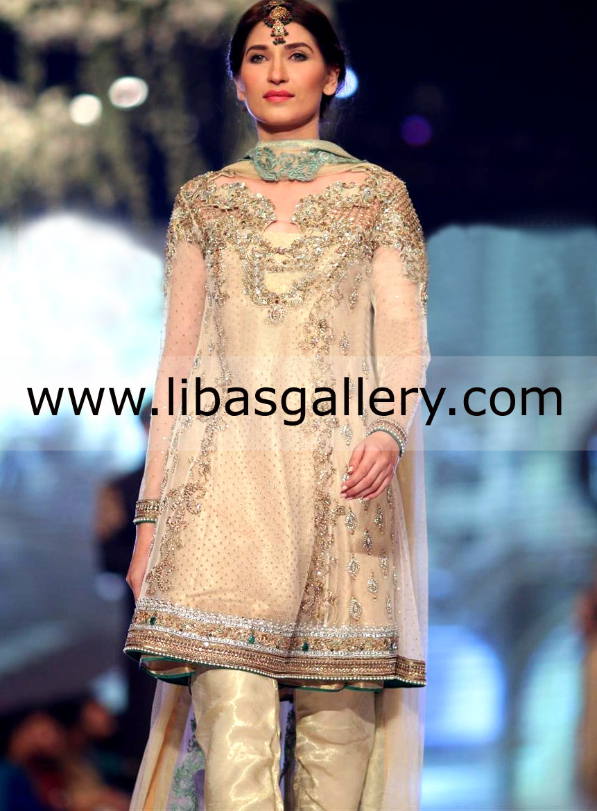 Asifa & Nabeel Bridal Dresses Collection Bridal trial gowns Party Wear Casual wear jumsuits ...