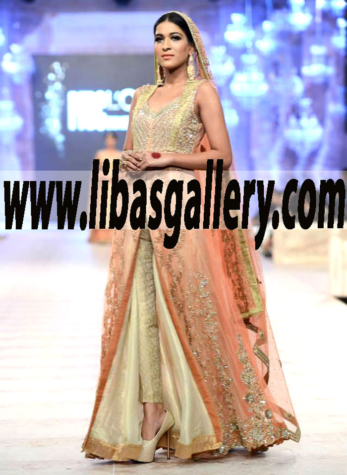 ce05888245 Designer Asifa & Nabeel Sharara Collection PFDC L`Oreal Paris Bridal ...