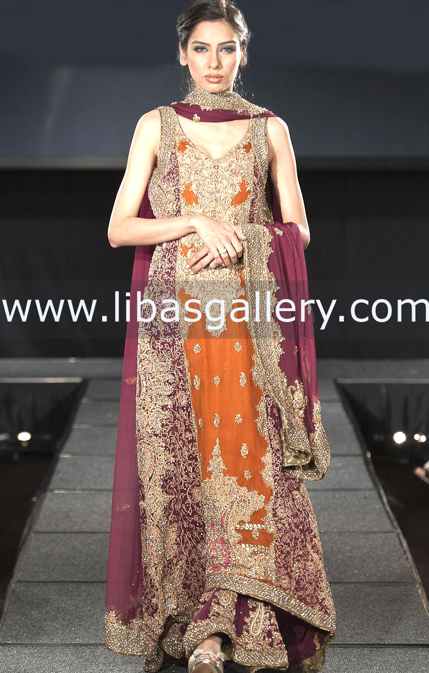Designer Hassan Sheheryar Yasin Latest Wedding Dresses Collection
