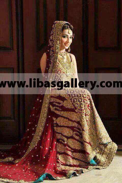 Sana Safinaz Wedding Dresses Images