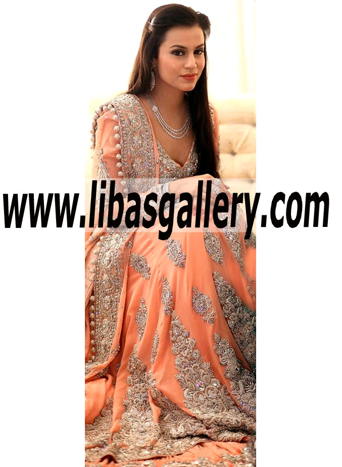 Buy Online Mina Hasan Bridal Sharara 2014-2015 in Affordable Prices. Buy Pakistani Dresses ...