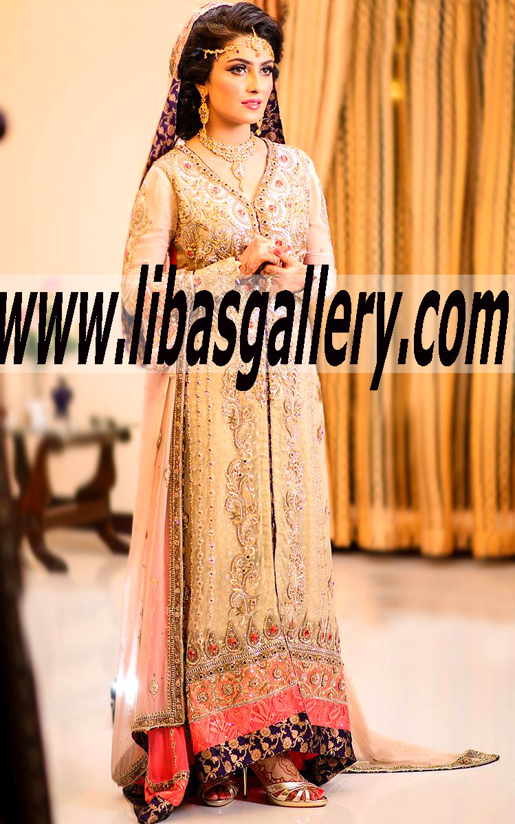 Ayeza Khan Bridal Wear Collection 2015