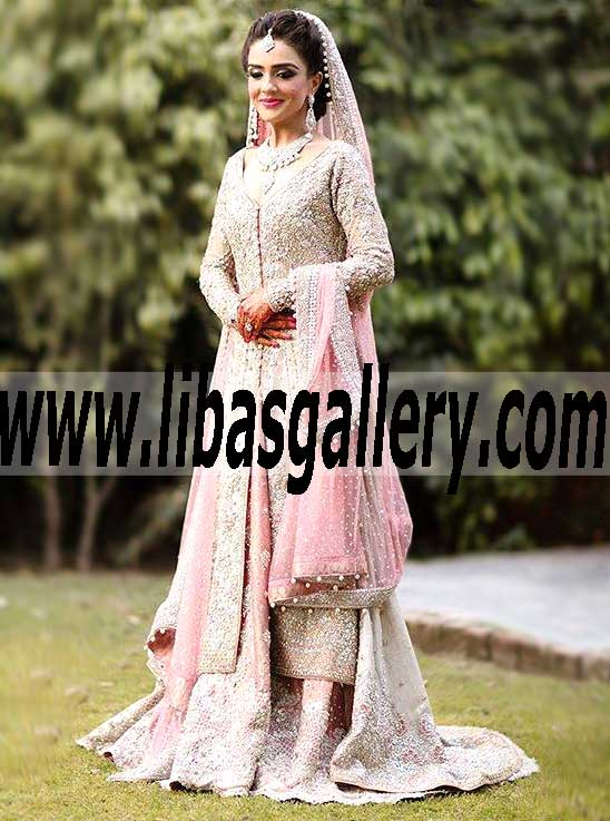 fd7874ea521 Luxurious Designer Bridal Wear with Attractive Lehenga for Wedding and  Special Occasions