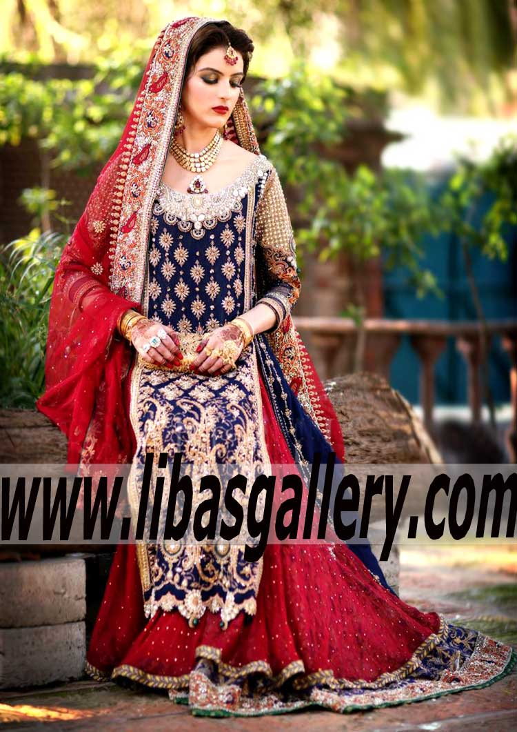 Majestic Designer Bridal Wear For Special And Wedding Occasions