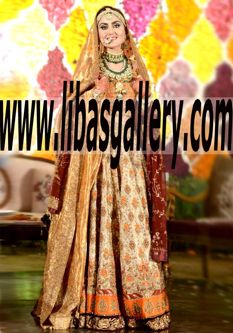 932feb8326 Luxurious Lehenga Choli Bridal Wear for Wedding and Special Occasions