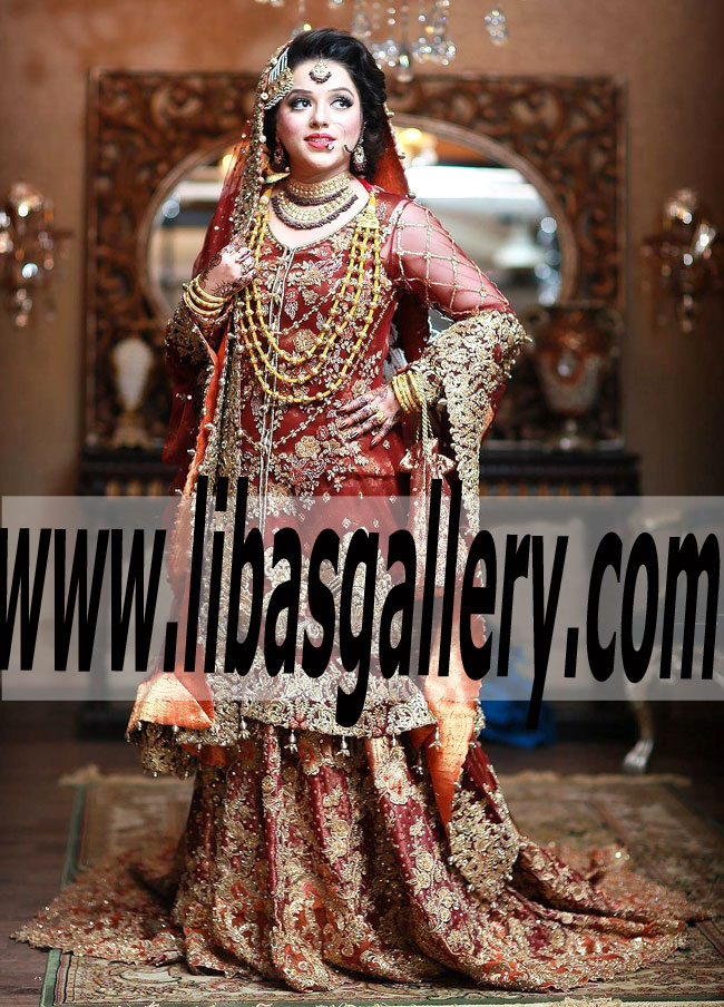 bafe71b584 Miraculous Designer Bridal Wear Lehenga Dress for Wedding and Special  Occasions