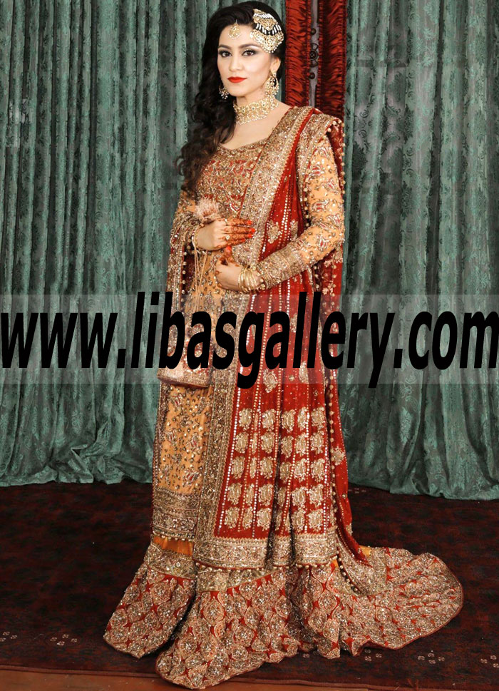 385f726838 Exquisite Pakistani Bridal Dress Brisbane Australia Latest Dr Haroon ...