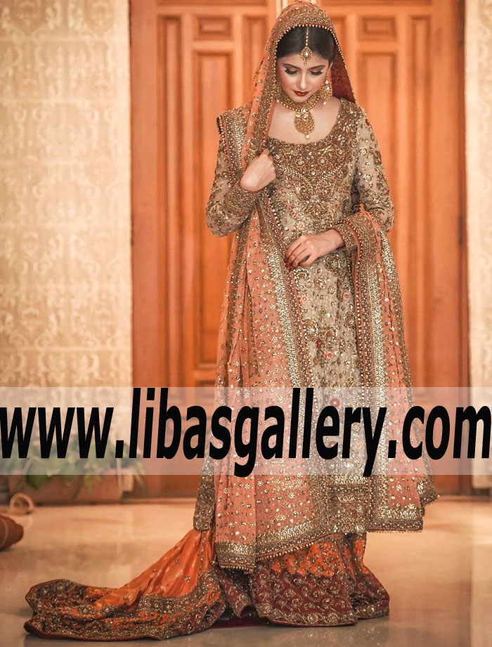 8357092df4 Buy DR HAROON Bridal Dresses Party Wedding Dresses Sherwani Indian ...