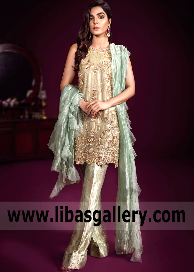 Top Designer Party Wear Luxurious Party Dresses Shalwar Kameez Newest Party Wear Collections From The Hottest Pakistani Designers
