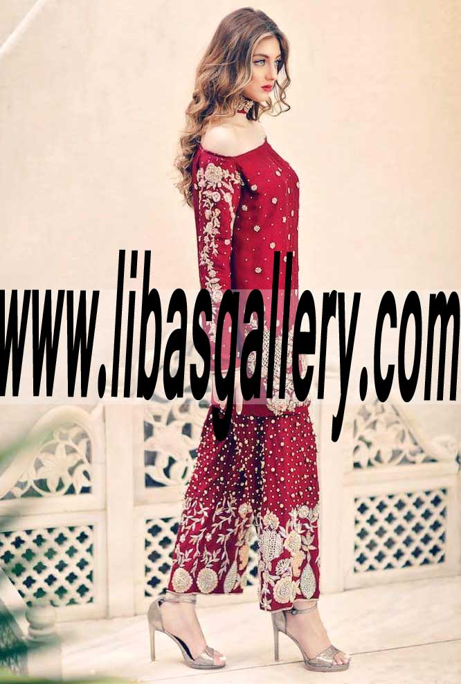 58815bedc1 ... Latest Pakistani Designer Whimsical Party wear for Social and Formal  Events