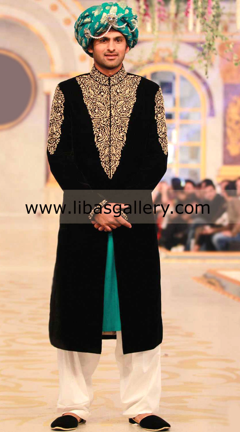 Buy Designer Humayun Alamgir Sherwani Collection 2013-2014, Shoaib