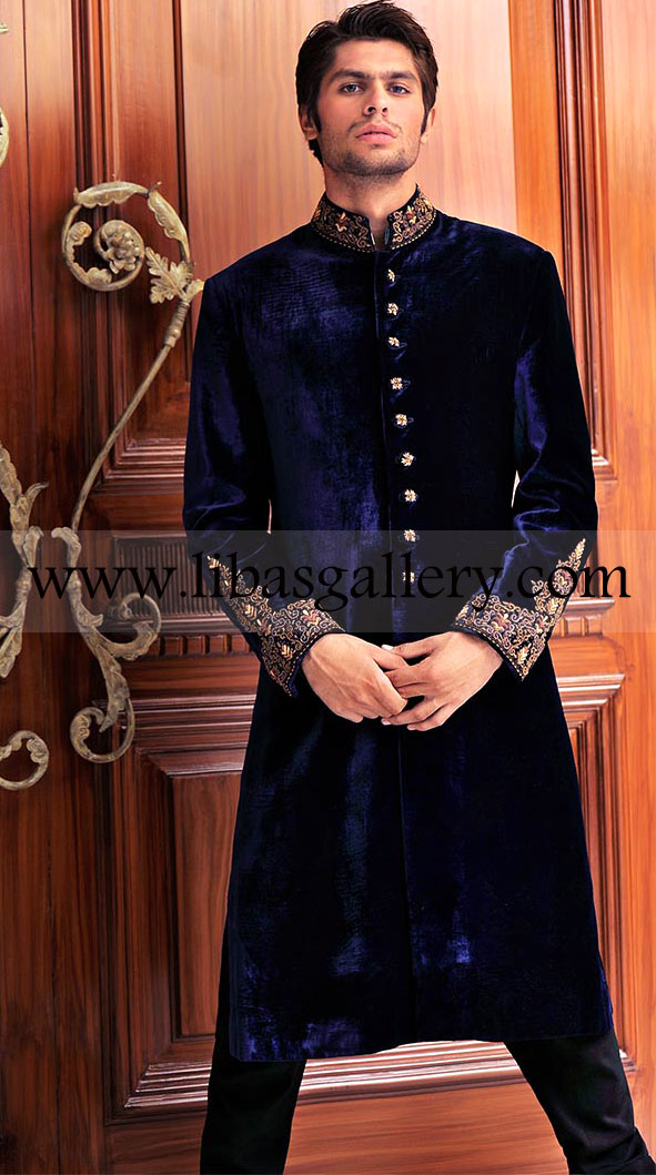 Shop Latest Mens Hottest Sherwani Dresses Wedding Heavy Embroidered Apparel And Groom Occasion Online
