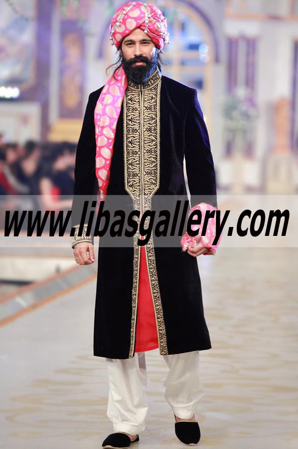 380e8424fd Humayun Alamgir Menswear Wedding Sherwani Suits | Sherwani for Men ...
