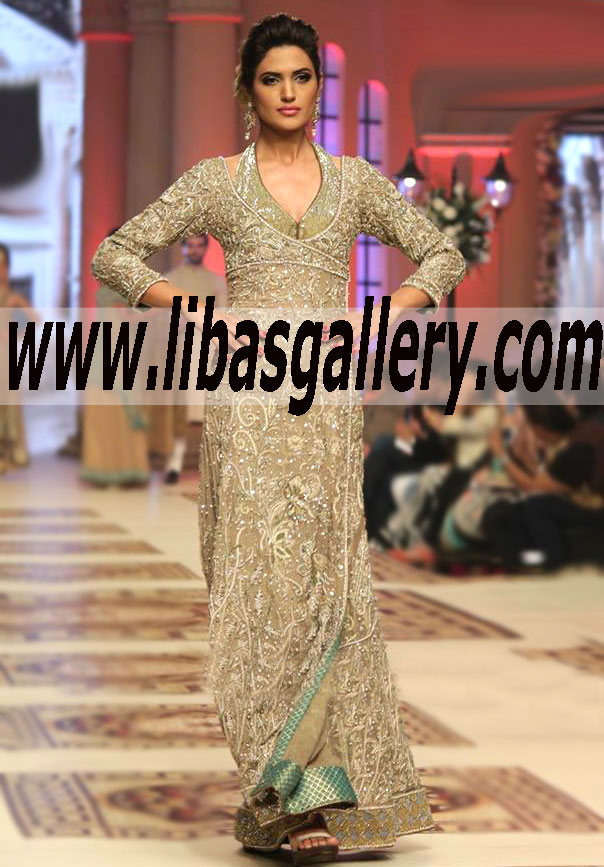 Buy Designer Mohammad Mehdi formal gowns, bridesmaid gowns, wedding ...