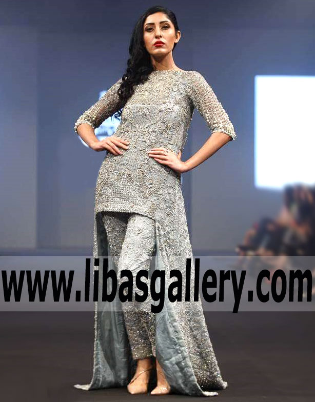 Pakistani Designer Wedding Guest Dresses Hsy Brooklyn New York Ny Usa Modern Style Wedding Guest Dresses