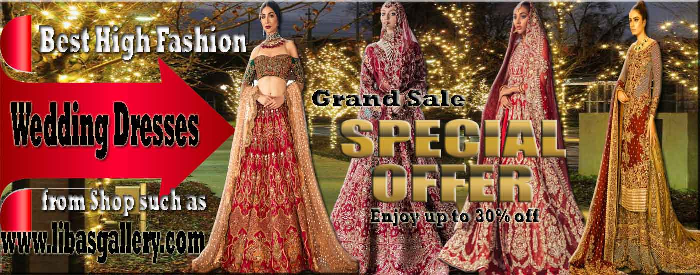 Shop Pakistani Indian Bridal Wear Online Bridal Outfits Retail Store Wedding Bride Groom Designer Dresses Boutique
