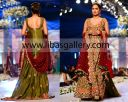 Traditional unique and beautiful Bridal dress designs for brides. recently Tabasum Mughal showed her latest Royale collection at bridal couture week Buy Online in New York, New Jersey and California,USA