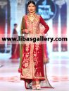 Designer Zaheer Abbas Bridal Dresses Anarkali Gowns Featuring the Best Fit right shape and size for Brides- www.libasgallery.com