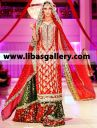 Dazzling Wedding Outfit for Weddings by Sana Abbas IBFJW 2014 Indian and Pakistani Party and Occasion Dresses at Highly Affordable Prices. Clothing Boutiques Can Avail Deep Discounts with Wholesale Business Opportunity