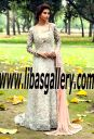 Pakistani Designer Shiza Hassan High low Wedding Gowns Richardson Texas TX USA Pakistani Gowns, Shiza Hassan Bridal Wedding Dresses Shiza Hassan High low Bridal Dresses