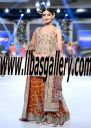 Beautiful Bridal Dress, Bridal LEHENGA for Wedding occasion by top Designer designer Karma at PFDC LOreal Paris Bridal Week | The Wedding Shop libasgallery.com FREE Shipping in Beverly Hills California CA USA