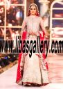 Designer Bridal Sharara, Bridal LEHENGA for Wedding occasion by top Designer Zainab Chottani at Telenor Bridal Couture Week 2016| The Wedding Shop libasgallery.com FREE Shipping in Westford Massachusetts US