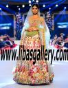 Nomi Ansari Latest Wedding LEHENGA Dresses 2016 New Arrivals from PFDC Loreal Paris Bridal Week Kalamazoo Michigan USA