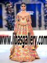 Latest Pakistani Wedding Gowns Nomi Ansari from PFDC Loreal Paris Bridal Week 2016, Nomi Ansari Wedding Dresses Asian Wedding Gowns Bridal Gowns Portsmouth Virginia VA US