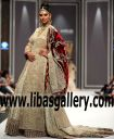 Shehla Chatoor Glamorous bridal dresses Asian Bridal Wear Collection 2017-2018 by Designer Shehla Chatoor Bethesda Washington USA