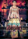 Nomi Ansari Wedding Lenghas Bridal Lenghas Fashion Parade London 2017 Southall UK